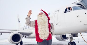 Joulupukin lentokentän laajennus valmistui