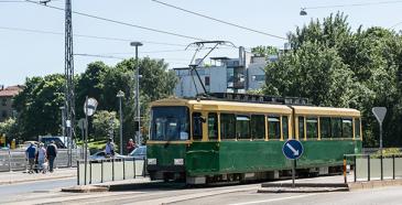 Joukkoliikenne tukee Helsingin keskustaa