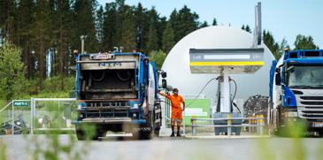 LVM haluaa tukea kaasukuorma-autoja