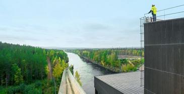 Caverion jatkosopimukseen Kemijoen voimalaitoksista