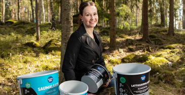 Kiillon Purchasing Manager Liisa Tuominen.