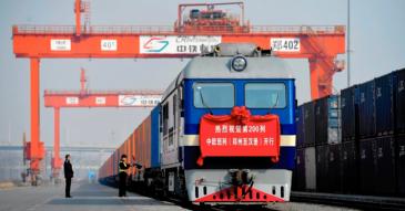 Kiina-Eurooppa-välin junakuljetuksissa ruuhkaa