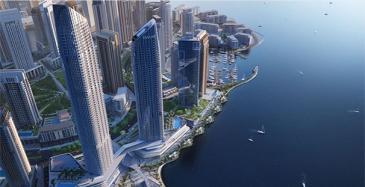 Koneen hissit Dubain pilvenpiirtäjään