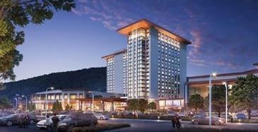 Koneen hissejä kasinohotelliin