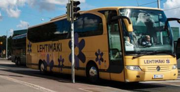 Korona ei hellitä linja-autoalalla