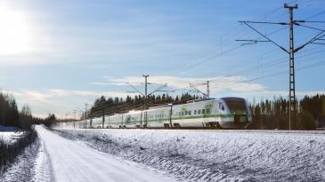 Pääradan kunnostustyöt viivyttävät junaliikennettä koko vuoden
