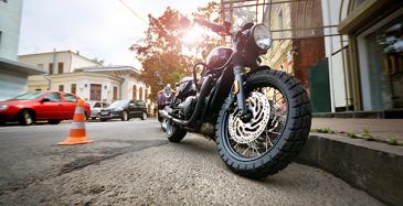 Moottoripyörään tulossa havainnointijärjestelmä
