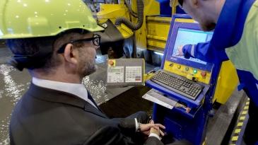 LNG:llä toimivan risteilyaluksen tuotanto alkoi Turussa