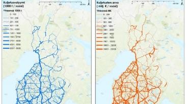 Nelostie ja kolmostie ovat Suomen avainväylät