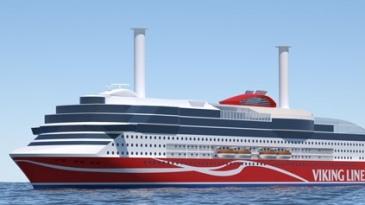 Viking Linen Kiinan alus saa Azipodin