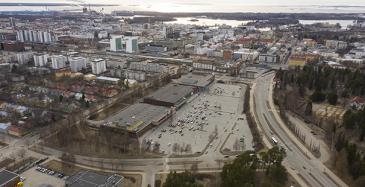 Oulun yliopiston kampus Raksilaan