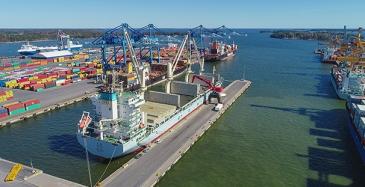 KWH Logistics kasvoi Suomen suurimmaksi satamaoperaattoriksi