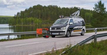 Roadscanners diagnosoi teiden kuntoa