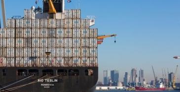 Rotterdamin satama vahvassa kasvussa