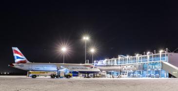 Rovaniemen lentoasema täytti 80 vuotta