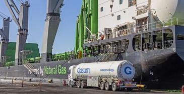 SSAB testaa biokaasua laivoissa