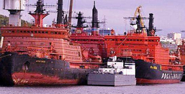 Ydinjäänmurtaja Arktikan toinen koeajovaihe valmis