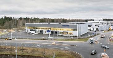 Volvolle logistiikkakeskus Vantaan Viinikkalaan