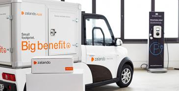 Zalando kokeilee Hampurissa verkkokauppatuotteiden sähköautojakelua.