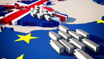Kuusi kymmenestä EU:n ja Britannian välillä kauppaa käyvästä yrityksestä ilmoittaakokeneensaviivästyksiä toimitusketjuissaan.
