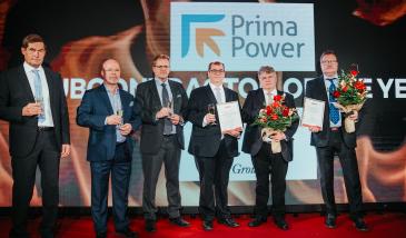 Palkinnot myönnettiin Alihankintamessuilla Tampereen Messu- ja Urheilukeskuksessa. Kuva vuoden 2019 tapahtumasta.