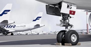 Neste kompensoi Finnairin avulla lentopäästöjään