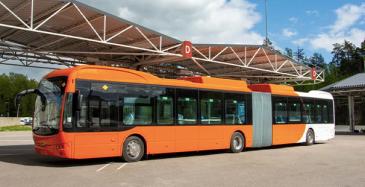 Nobina-konsernin Suomen tytäryhtiöstä tulee Suomen bussihankinnan ansiosta konsernin suhteellisesti sähköistynein maayhtiö.
