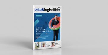 Osto&Logistiikka-lehti ilmestyy kuusi kertaa vuodessa.