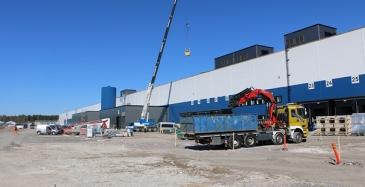 Logitri Oy:lle valtava logistiikkakeskus yhteistyössä Toyotan kanssa